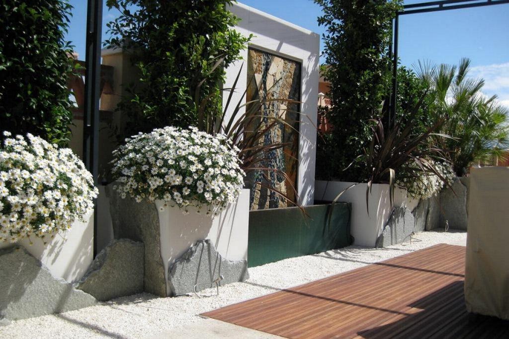 Mediterraner Dachgarten