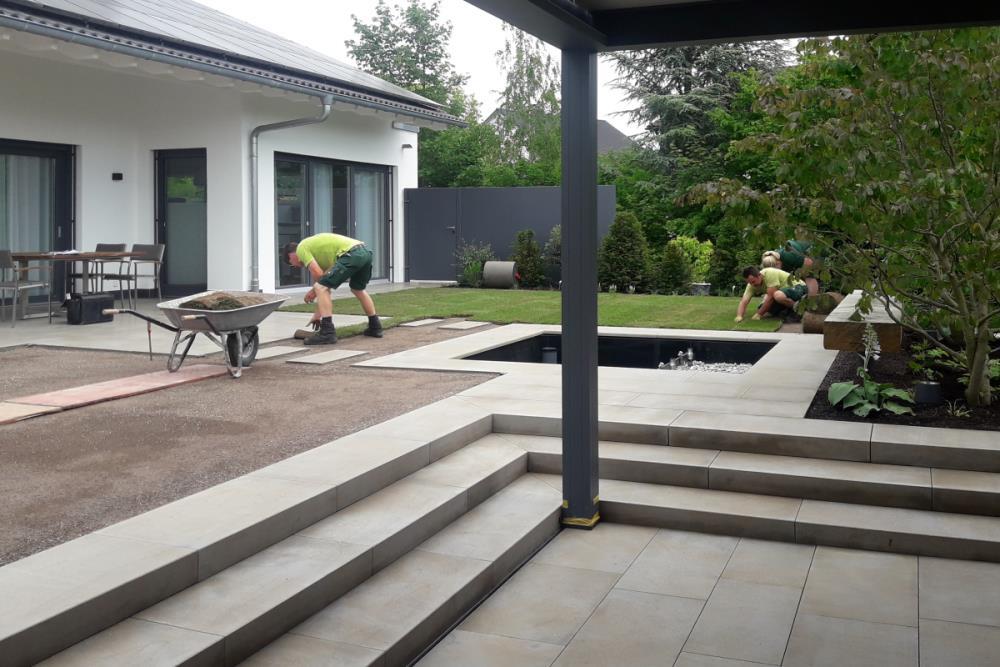 Garten bauen & beleben